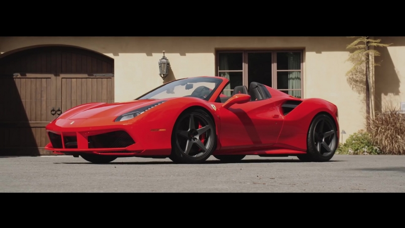 "Novitec Ferrari 488 Spider ¦ ""Tag Takeover"" ¦ Vossen Forged GNS-1 Wheel"