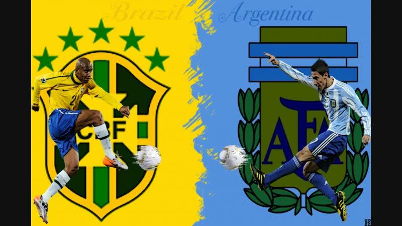 Бразилия Ангертина 16-10-2018 товарищ. HightLight's