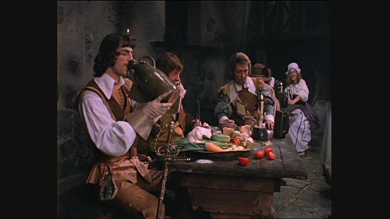 Д'Артаньян и три мушкетера 1978г 3 серия