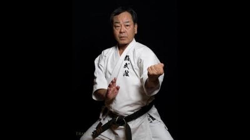 Тренировка с Kancho Masaaki Ikemiyagi Hanshi 9 Dan Meibukan