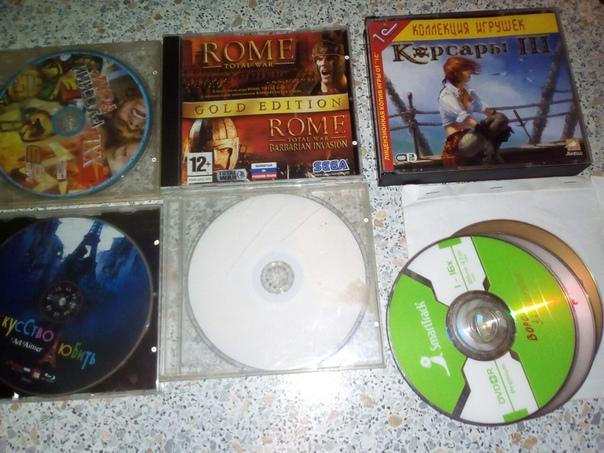 Есть много ненужных дисков: музыка,фильмы, игры для ПК.  Отдам их за в