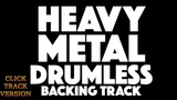Heavy Metal No Drums Play Along With Click Track (Metronome)