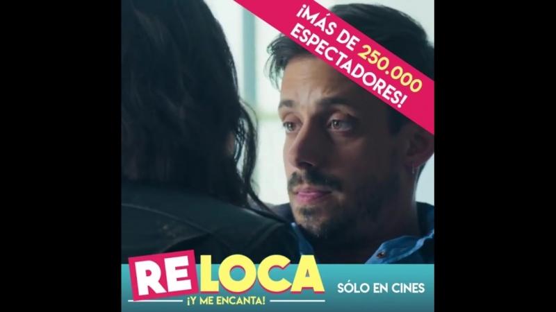 Комедию Чокнутая в Аргентине посмотрели уже более 250 000 зрителей😍👍  NataliaOreiro ❤