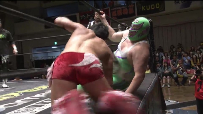 Sasaki, Takao, Endo, Paulie, Shimatani vs. Ueno, Hirata, Owashi, HARASHIMA, SSM (DDT - Road to Ryogoku 2018)