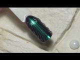 Дизайн ногтей жемчужная ракушка