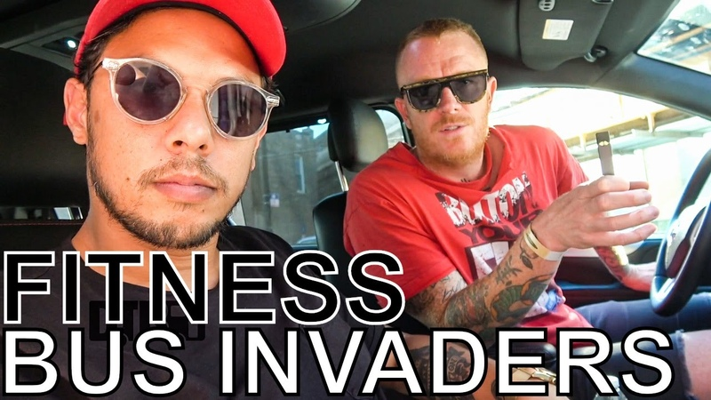 FITNESS (Eve 6, ex- AWOLNATION) - BUS INVADERS Ep. 1343