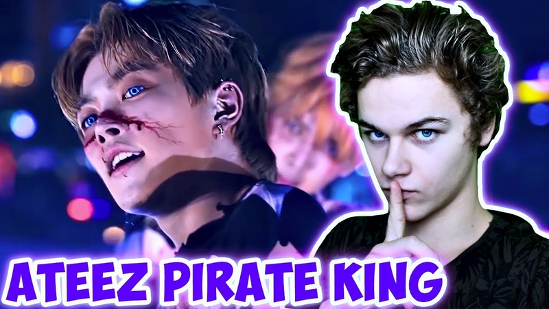 АЙДОЛЫ ЗОМБИ В КОРЕЕ! Реакция на ATEEZ Pirate King Performance Video / Реакция на k-pop Хей Слокер