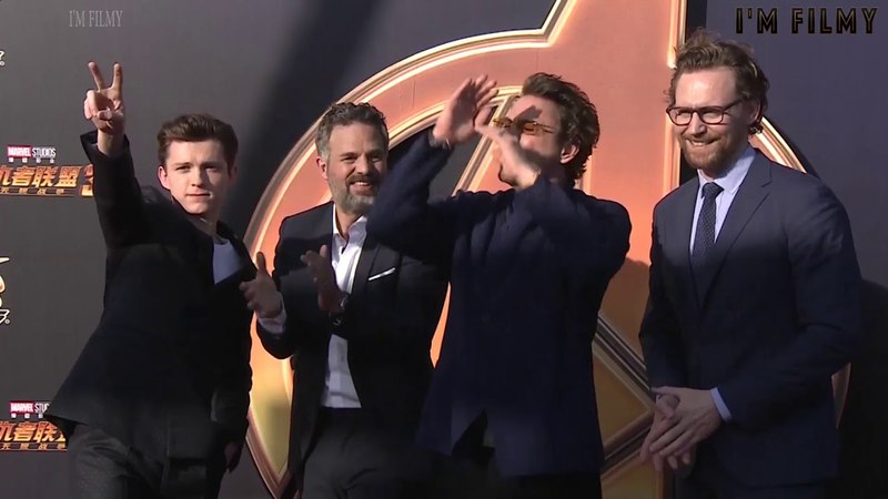 Avengers: Infinity War - Fans Go Crazy At Shanghai Premiere - 2018