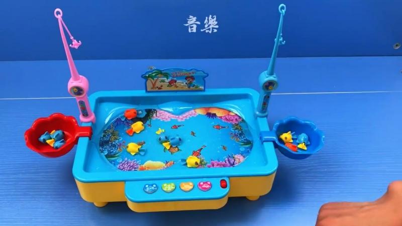 Электрическая магнитная рыбалка для детей