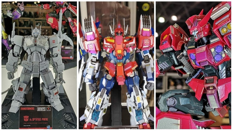 2019 UPCOMING Transformers Action Figures Onslaught