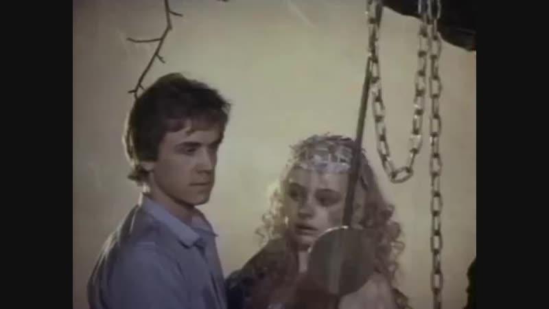 Она с метлой он в чёрной шляпе 1987 музыкальный фильм сказка режиссёра Виталия Макарова