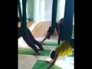Занятие в Студии Аэро-йоги «Колибри»