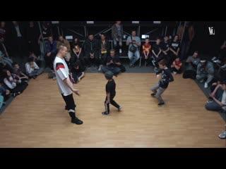 One Shot & Паша Может vs Baron & Dart Квалификация Учитель и Ученик Весна 2019 V1 Battle