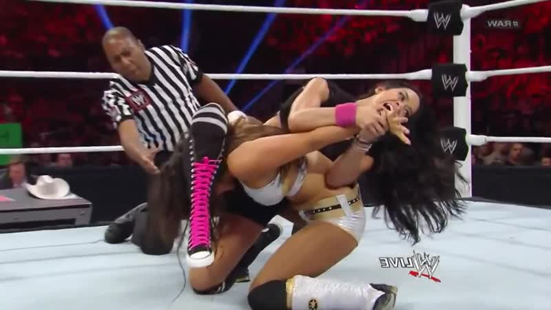 Layla Slaps and Grabs AJ Lees Ass