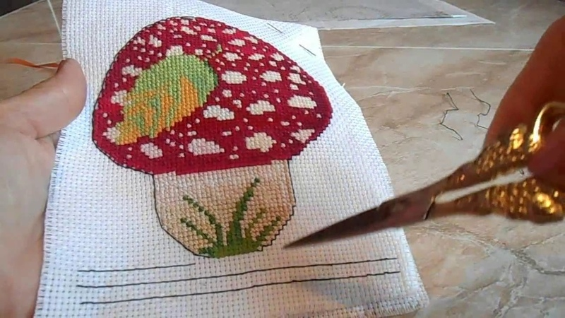 БЭК стич КАК шить 3 способ выполнения Back Stitch ШОВ назад иголку