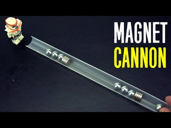 Magnet Сannon magnetic launcher Accelerator Satisfying Experiments