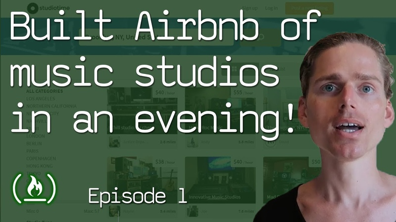 How I built the Airbnb of music studios in an evening (part 1 of the Studiotime story)