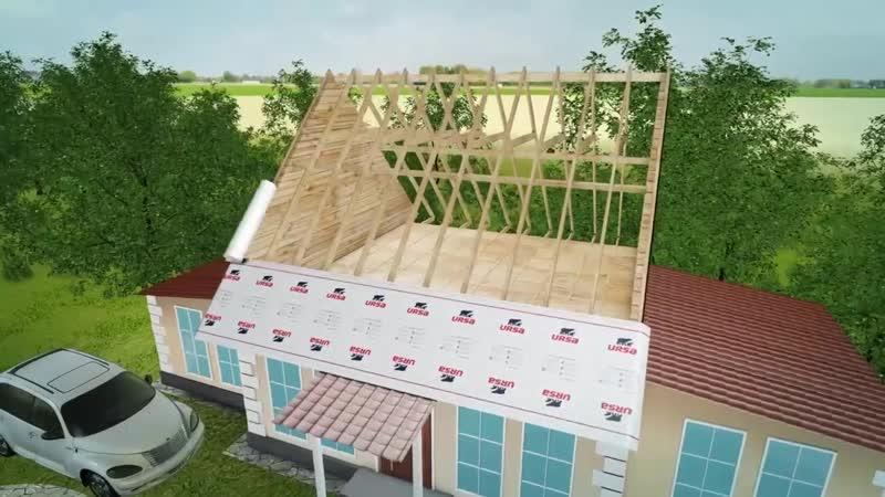 Утепление скатной крыши entgktybt crfnyjq rhsib