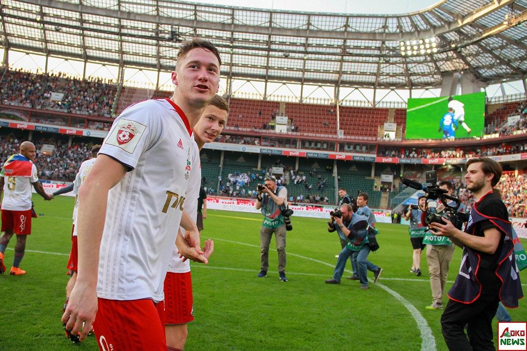 Миранчук и Лысов. Фото: Дмитрий Бурдонов / Loko.News