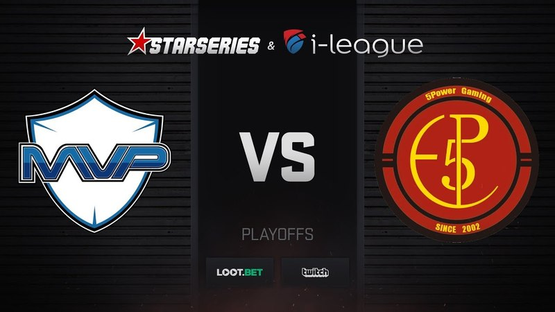 MVP PK vs 5POWER, map 2 inferno, StarSeries i-League S5 Asian Qualifier