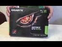 GIGABYTE GeForce GTX 1070 Ti Распаковка