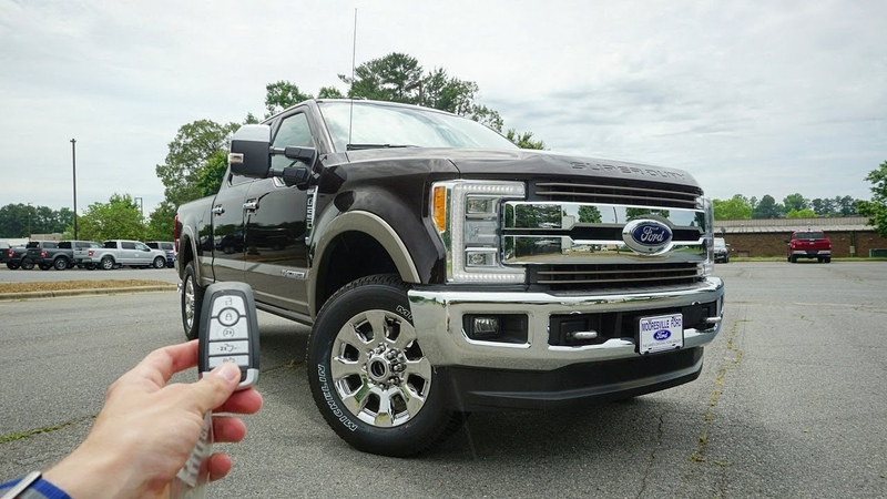 2018 Ford F-250 Super Duty King Ranch Start Up, Walkaround, Test Drive and Review