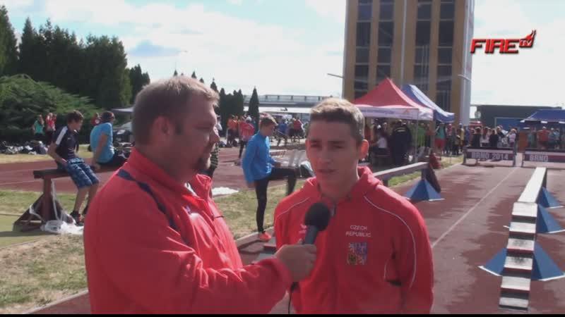 Капитан молодежной сборной респ Чехия Даниель Клвания 2015 г