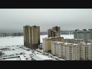 Бугры , ленобласть | ЖК Ленинградское Трио , Февраль2019