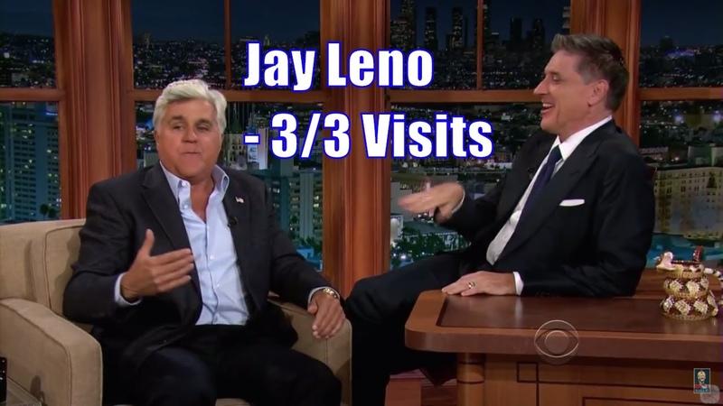 Jay Leno Craig Ferguson Talking Their Scottish Mothers - 33 Visits In Chronological Order