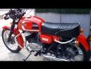 Мотоцикл CZ 350, 1987 года