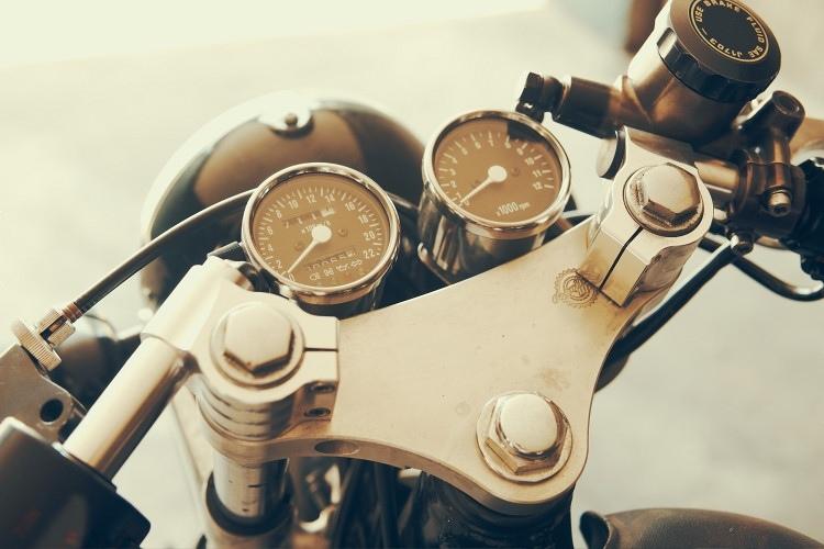 Contach: кафе рейсер Honda CB750K Kali