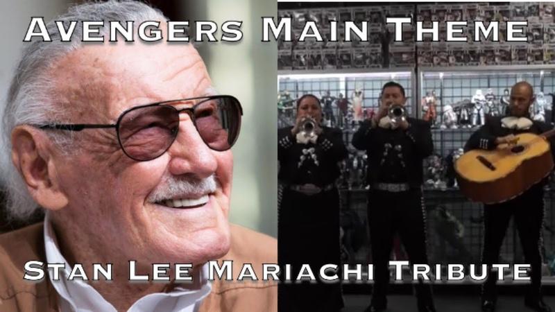 Avengers Main Theme - Mariachi Cover - Stan Lee Tribute - Mariachi Entertainment System
