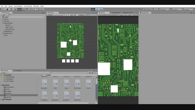 Unity 2018.2.17f1 Personal (64bit) - main.unity - Storm Worm - iPhone, iPod Touch and iPad_ _DX11_ 24.01.2019 14_10_53