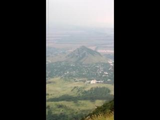 Вид с горы Бештау.
