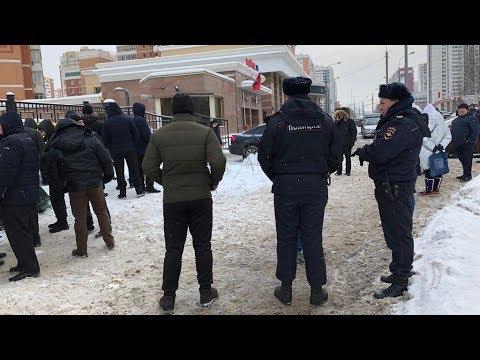 Захват земли на Мичуринском 30Б в Москве