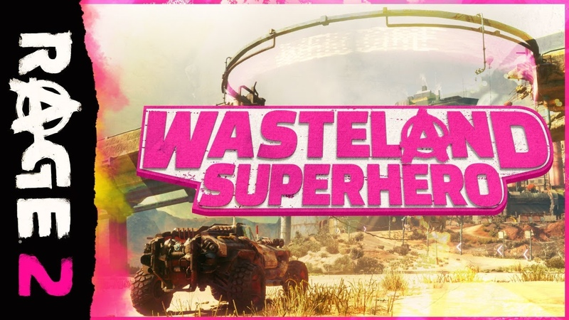 RAGE 2 – Wasteland Superhero Trailer