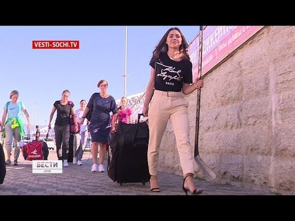 Деффчонки на льду в Сочи появилась женская хоккейная команда