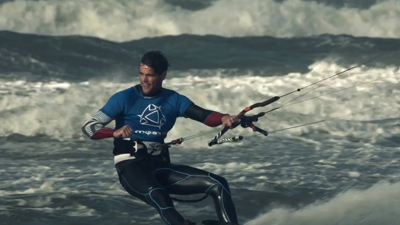 Freestyle kiteboarding in the Netherlands - Red Bull Megaloop Challenge