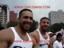 Carlo Masi and Adam Champ. Gay pride Mexico.
