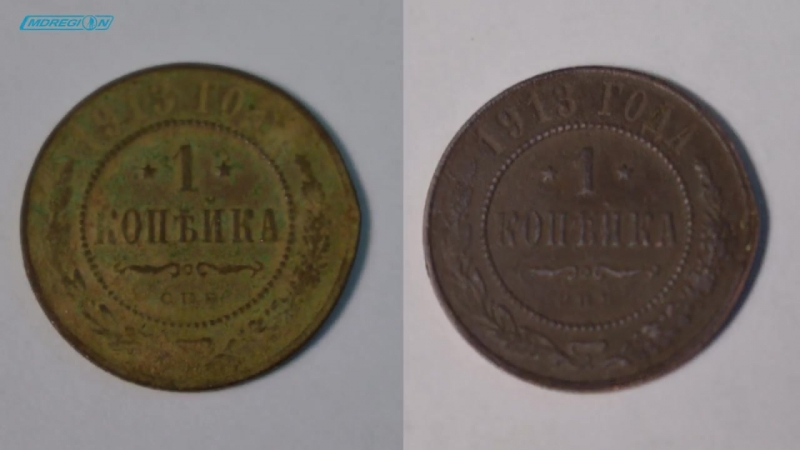 Тестируем жидкость для чистки и полировки монет от Shine Coins