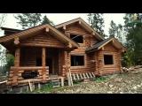 Вот каким должен быть рубленный дом. Деревянный дом в Подмосковье. Строительство