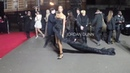 Uma Thurman Kate Moss David et Victoria Beckham le tapis rouge des British Fashion Award