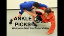 Ankle Picks-A Tactical Approach from Sambo
