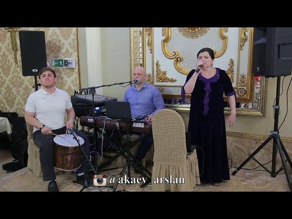 Ругубият Абдулхаликова и Атай Сулейманов песня на кумыкском языке