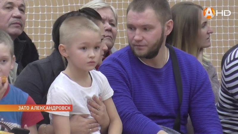 Традиционный XIV турнир по греко-римской и вольной борьбе состоялся в ЗАТО Александровск