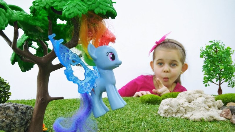 Май Литл Пони играют в прятки - Видео для девочек