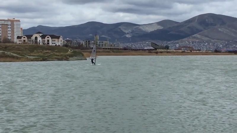 Windsurfing Novorossiysk 09 декабря 2018г.