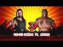 Umaga vs. Roman Reigns-Dream Match-Extreme Rule 2018-WWE-2K18-Gameplay