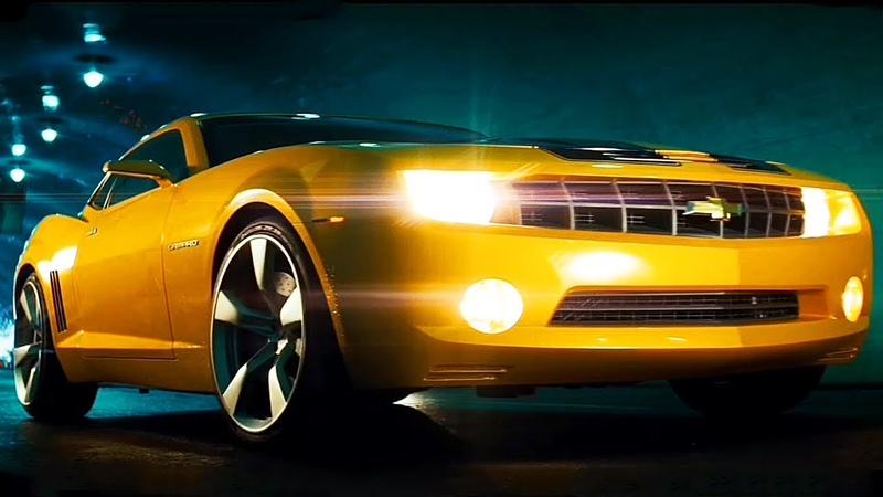 Бамблби трансформируется в новый Chevrolet Camaro / Трансформеры (2007)