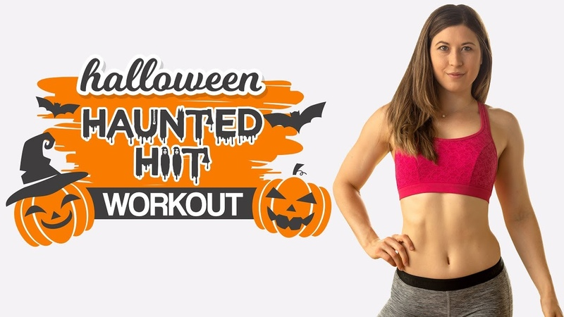 10 Minute Total Body HIIT Workout Haunted Halloween HIIT No Equipment At Home